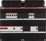ABB HAF Groepenkast 3 Fase 9 Groepen 4 polige aardlekschakelaars