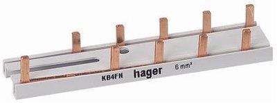 Hager KB4FN Aansluitrail
