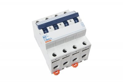 Gewiss Installatie Automaat 4P 25A B-kar