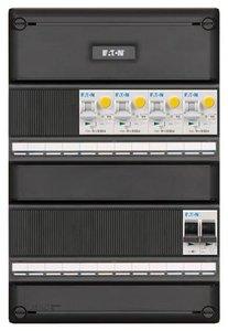 Eaton Groepenkast 1 fase 4 Groepen Aardlekautomaten