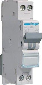 Hager Installatie Automaat C16 MLN516