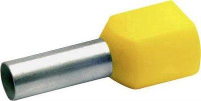 Twin Adereindhuls Voor VDS 6mm2 (per 100 stuks)