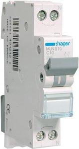 Hager Installatie Automaat C10 MJN510