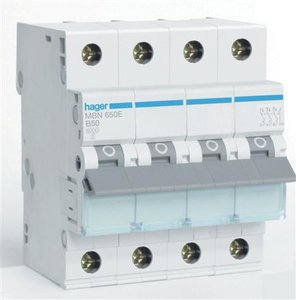 Hager Installatie Automaat B50 MBN650E