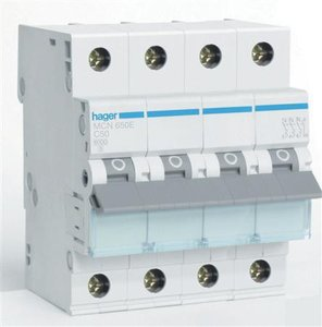Hager Installatie Automaat C50 MCN650E