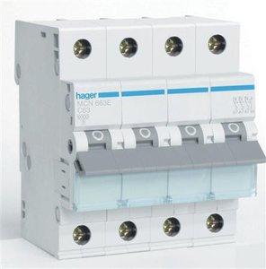 Hager Installatie Automaat C63 MCN663E