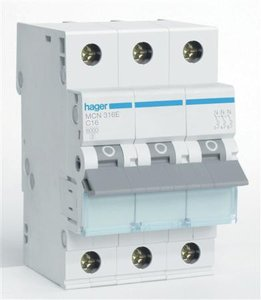 Hager Installatie Automaat MCN316E