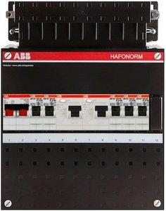 Groepenkast ABB HAF 1 Fase 5 Groepen HAD333222H42