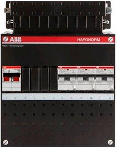 1 Fase Groepenkast ABB 3 Aardlek automaten