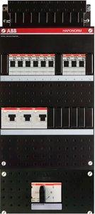 Groepenkast ABB HAF 3 Fase 9 Groepen HAD333333-222+H404