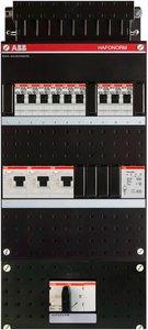 Groepenkast ABB HAF 3 Fase 9 Groepen + Beltrafo HAD333333-222T+HS404