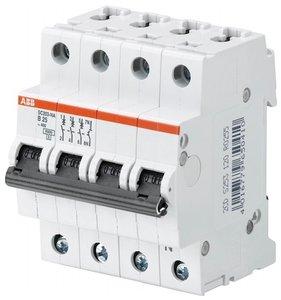 ABB Installatieautomaat 4 Polig 16A C-kar