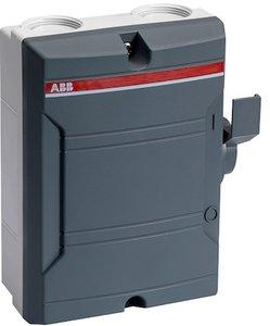 ABB Werkschakelaar 25A / 2 Polig