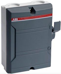 ABB Werkschakelaar 3-polig 25A