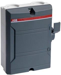 ABB Werkschakelaar 4-polig 25A