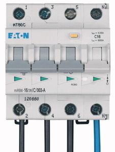 4 Polig Eaton Holec Aardlekautomaat (alamat) C16