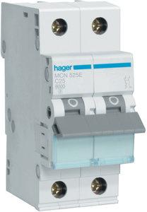 MCN525E Hager InstallatieAutomaat C25 1P+N