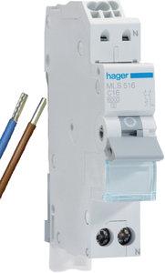 Hager Installatie Automaat VKS12SJ C16