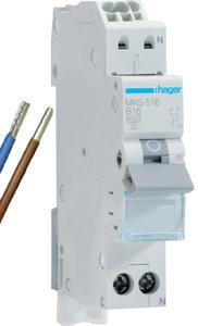 Hager Installatie Automaat VKS01SG B16