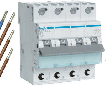 Hager VKS04SD Installatie Automaat MBS616E