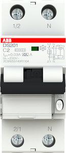 ABB Aardlek Automaat 2-polig 2A 2CSR255140R1024