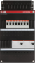 Groepenkast ABB 3 Fase 8 Groepen - Zonder Hoofdschakelaar